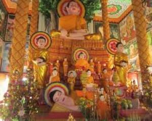 Giải Thích Về Hệ Thống Tượng Phật Ở Trong Chùa