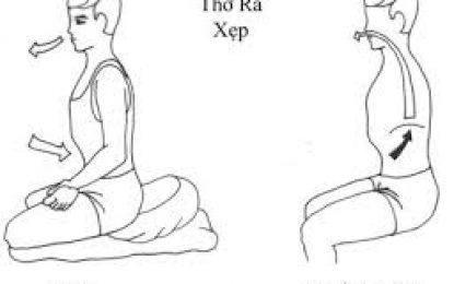 Thở Vào Ra Trong Lúc Toạ Thiền